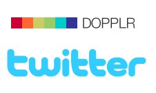 twitter and dopplr